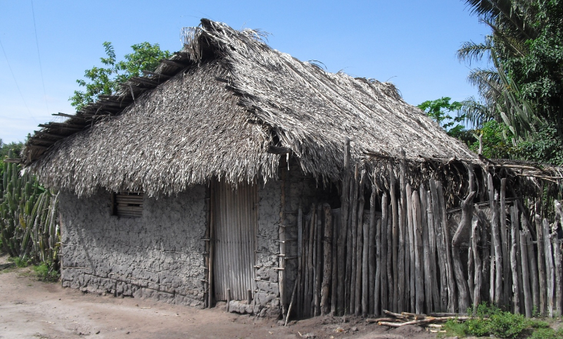 A house in the community of Santa Rosa