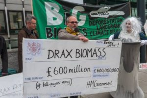 Drax cheque