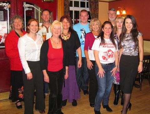 The Breathe Clean Air Group celebrate victory last Thursday night
