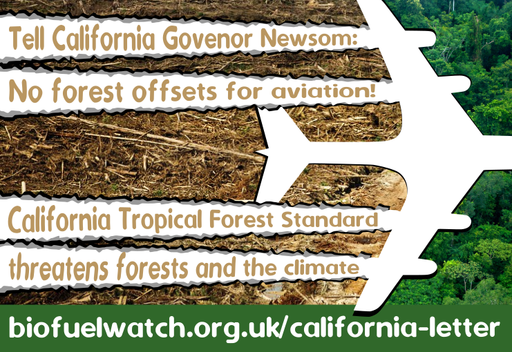 biofuelwatch | Broad Coalition Sends Letter to California